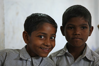 Two young schoolboys | by World Bank Photo Collection
