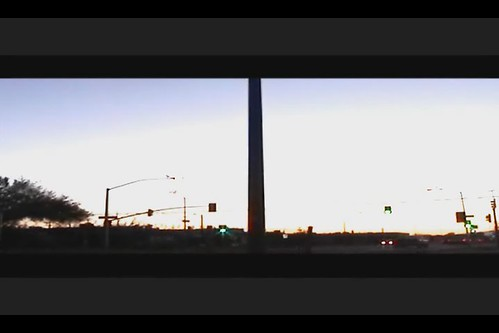 street arizona cars sunrise timelapse tucson