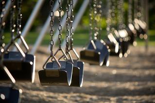 Empty swingset | by wsilver