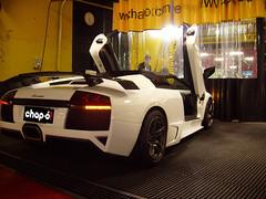 Lavado a mano. Lamborghini Murciélago LP640