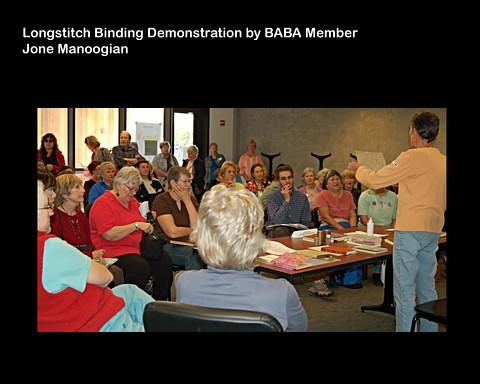 Book Arts Jam 2007 - Longstitch Binding - slide 9