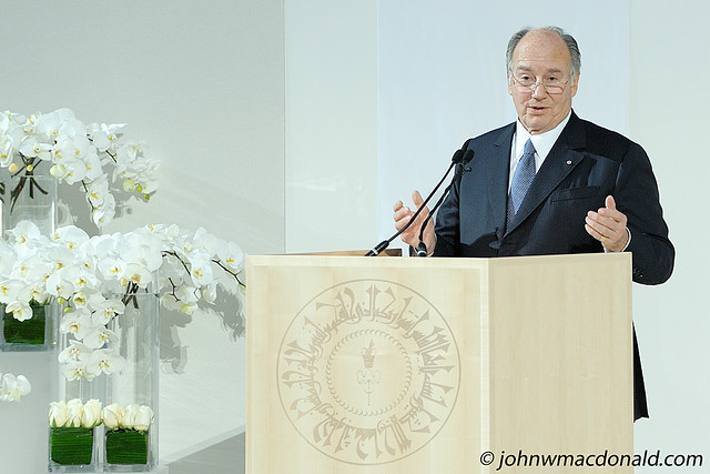 Aga Khan - with seal (Photo Illustration)
