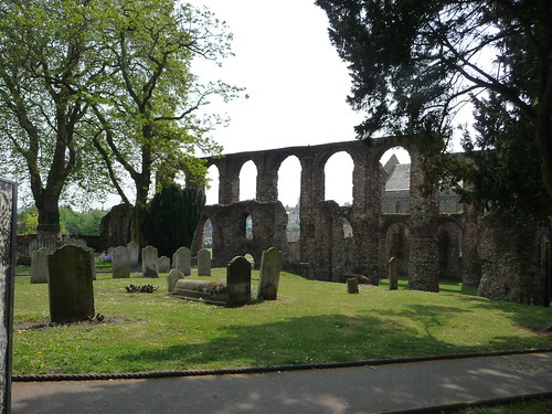 The graveyard and priory P1450867 | by tomylees