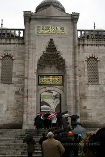 A side entrance to the Blue Mosque, Istanbul, Turkey | by MsAdventuresinItaly