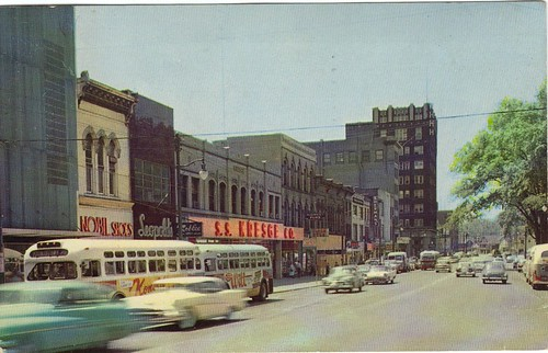 county street ohio west fifties market ss scene 1950s oh warren trumbull kresges