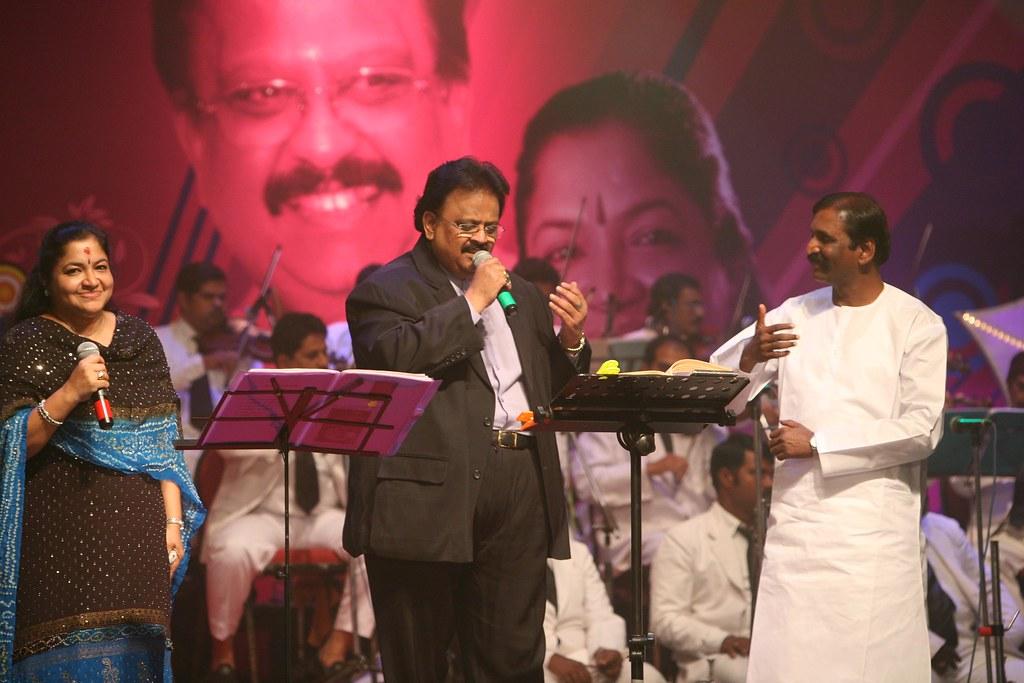 VM SPB CHITRA   Kaviperarasu Dr  Vairamuthu, Poet   Arvind