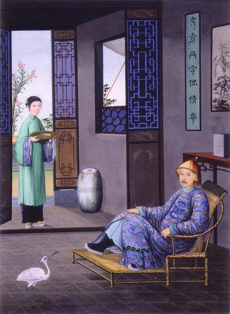 china trade painting