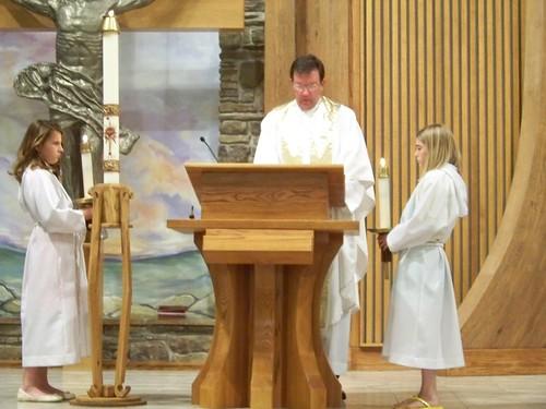 Easter Vigil Mass at St. Stephen's Catholic Church