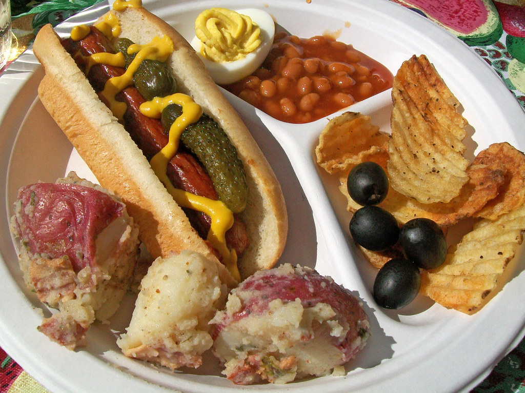 Hot Dog & Salads