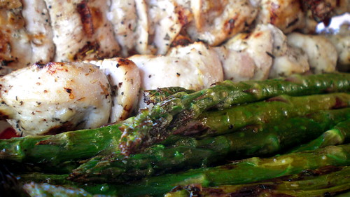 Grilled Chicken and Asparagus 03.23.09 [82] | by timlewisnm