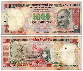 1000 Indian Rupees | by LLudo