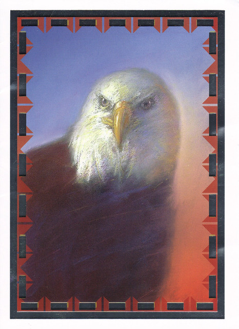 Eagle Painting Greeting Card