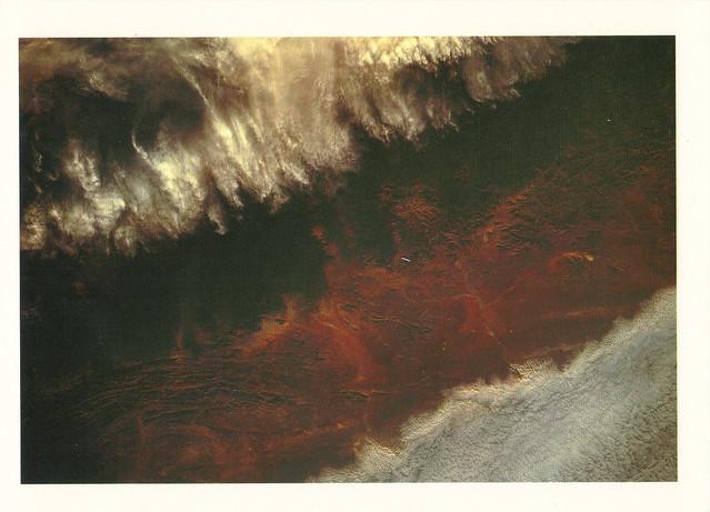 Atlantic Coast Space View Postcard