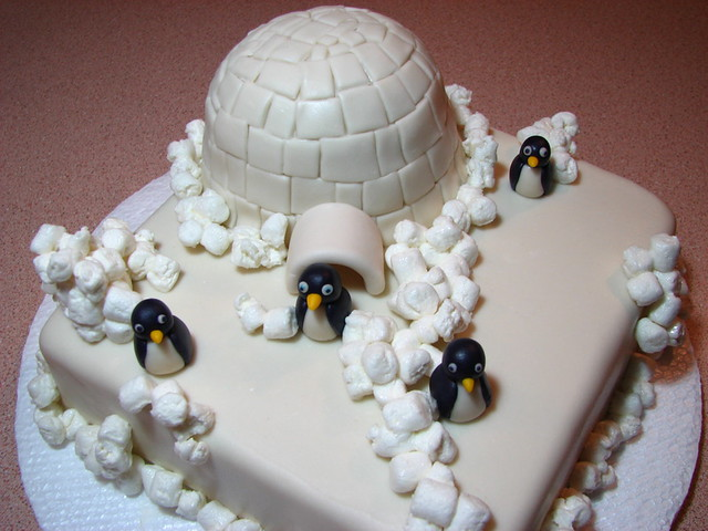 Igloo And Penguins Made Explore I M So Proud Of My