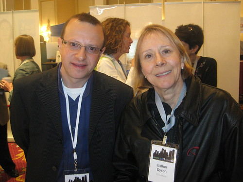 With Esther Dyson | by healthworldweb