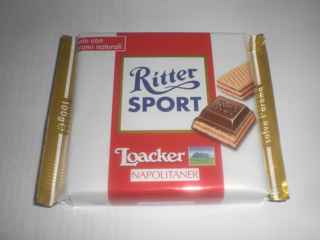 Italian Ritter Sport Loacker Napolitaner See There Is No Flickr