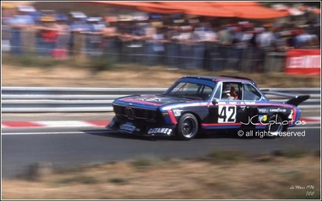 24 Heures du Mans 1976 BMW 3.5 CSL