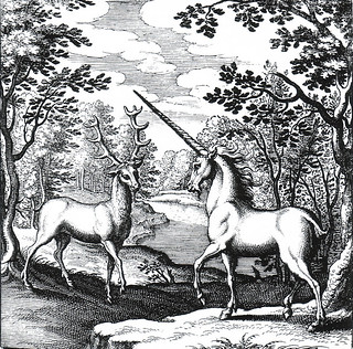 Bestiary Lucas Jennis Engraving Unicorn | by griffinlb