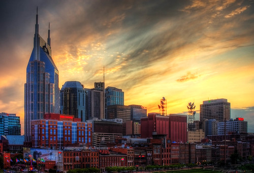 city sunset skyline nashville explore frontpage thechallengefactory