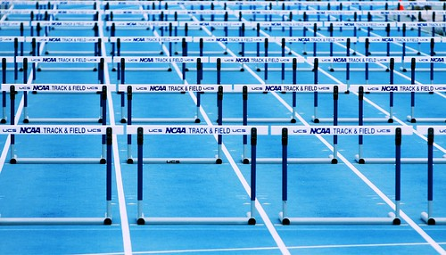 Hurdles (Scenes from a Track Meet) | by Phil Roeder