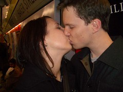 Kissing At The Tube Station 2 By Andgiepangie