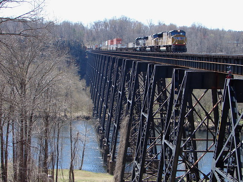 James River trestle