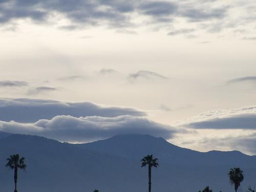california mountain sunrise
