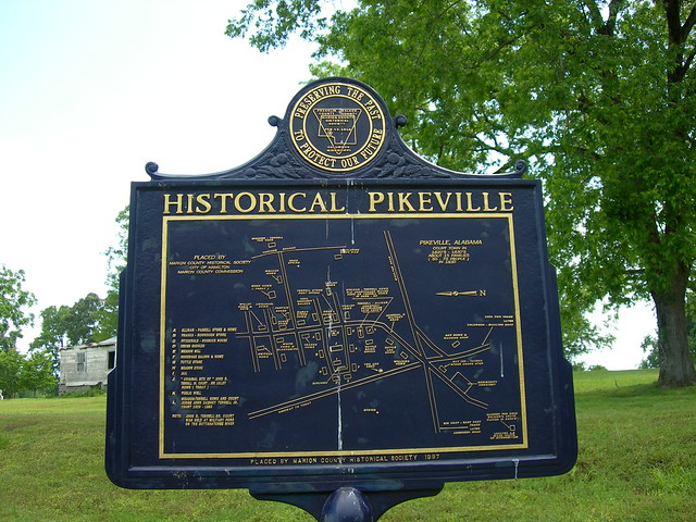 Pikeville, Alabama Historic Marker