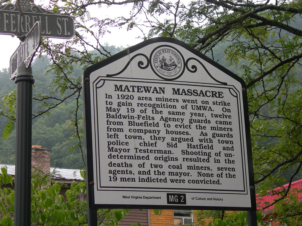 Matewan, WV Massacre