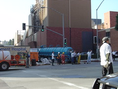 chemical spill at UCLA - at least we know HazMat is ready | by Malingering