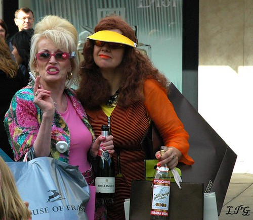 "Fake ""Absolutely Fabulous"" 