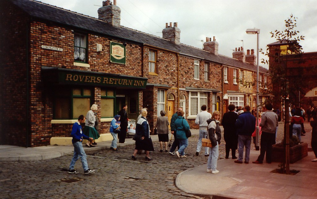 Coronation Street | Tourists get to see round the set of the… | Flickr