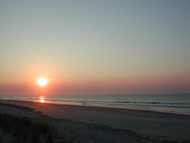 Huntington sun-up