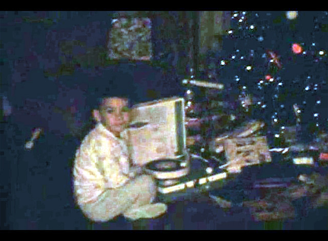 Kevin's First Record Player