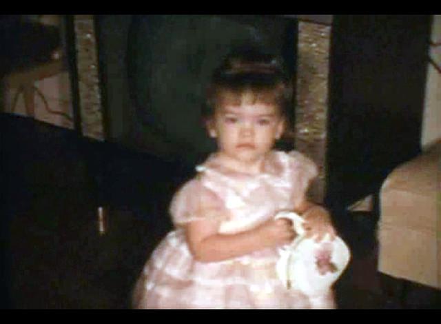 My Sister Kim at Easter 1964