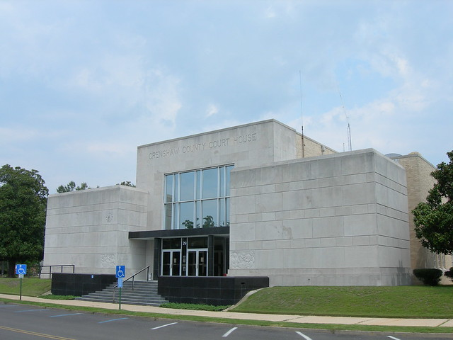 Crenshaw County Court House