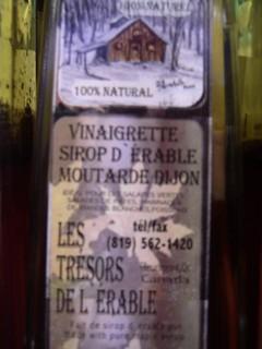 Vinagrette Bottle