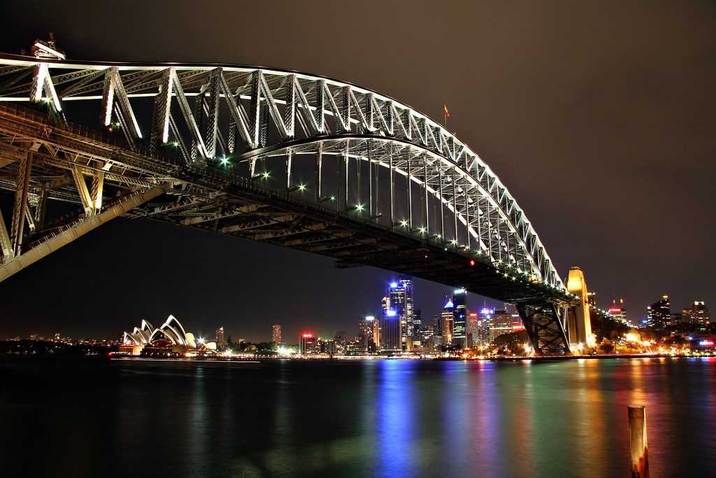 Image: Sydney Harbour Bridge by Night
