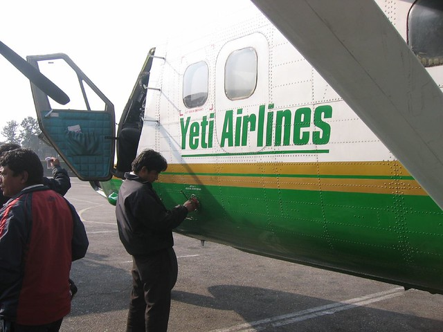Fly Yeti Airlines | Rumours that Yeti Airlines is just a cov… | Flickr