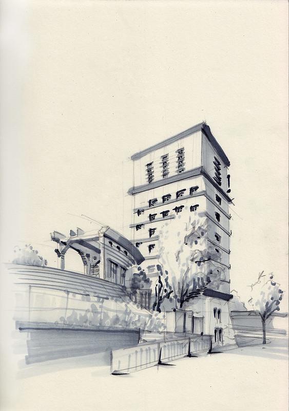 Wasserturm Südbahnhof Dortmund