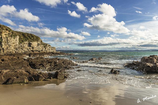 Playa de la costa gallega