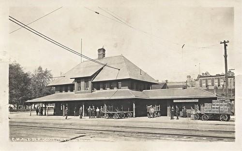 marioniowa milwaukeeroad depot trainstation