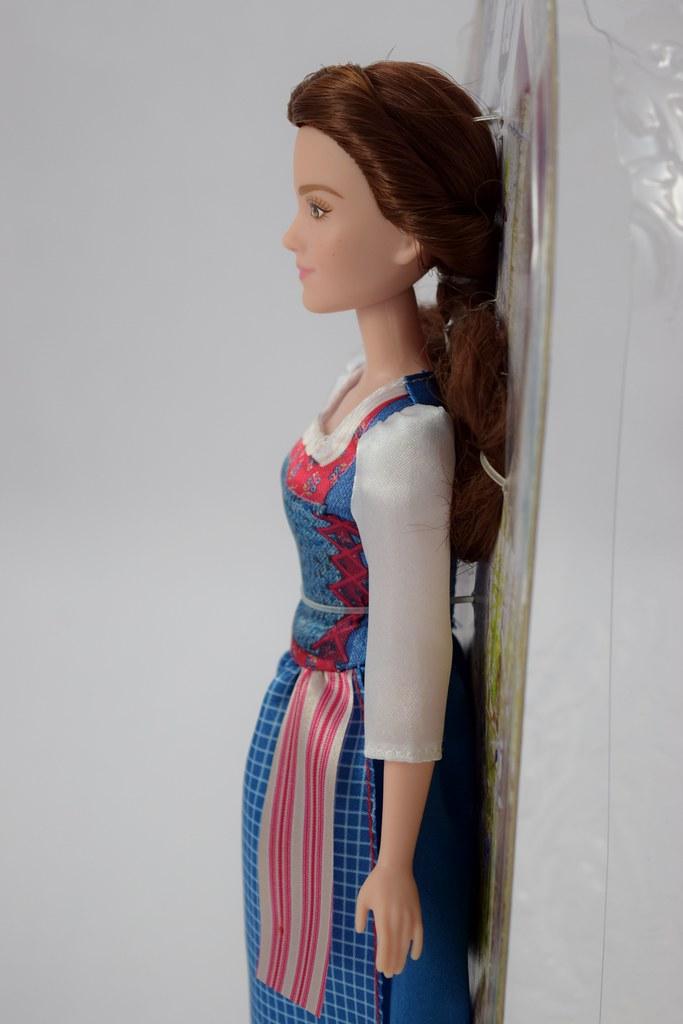 Disney Beauty And The Beast Movie Village Dress Belle Doll Emma Watson 2017 New Disney