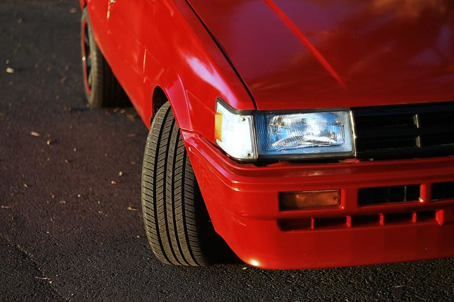 AE82 new tyres