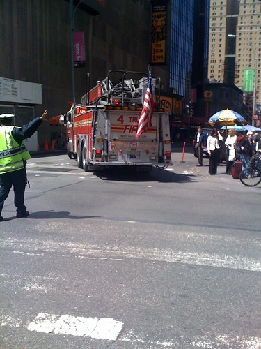 'Twas nice ogling you FDNY! | by @jozjozjoz