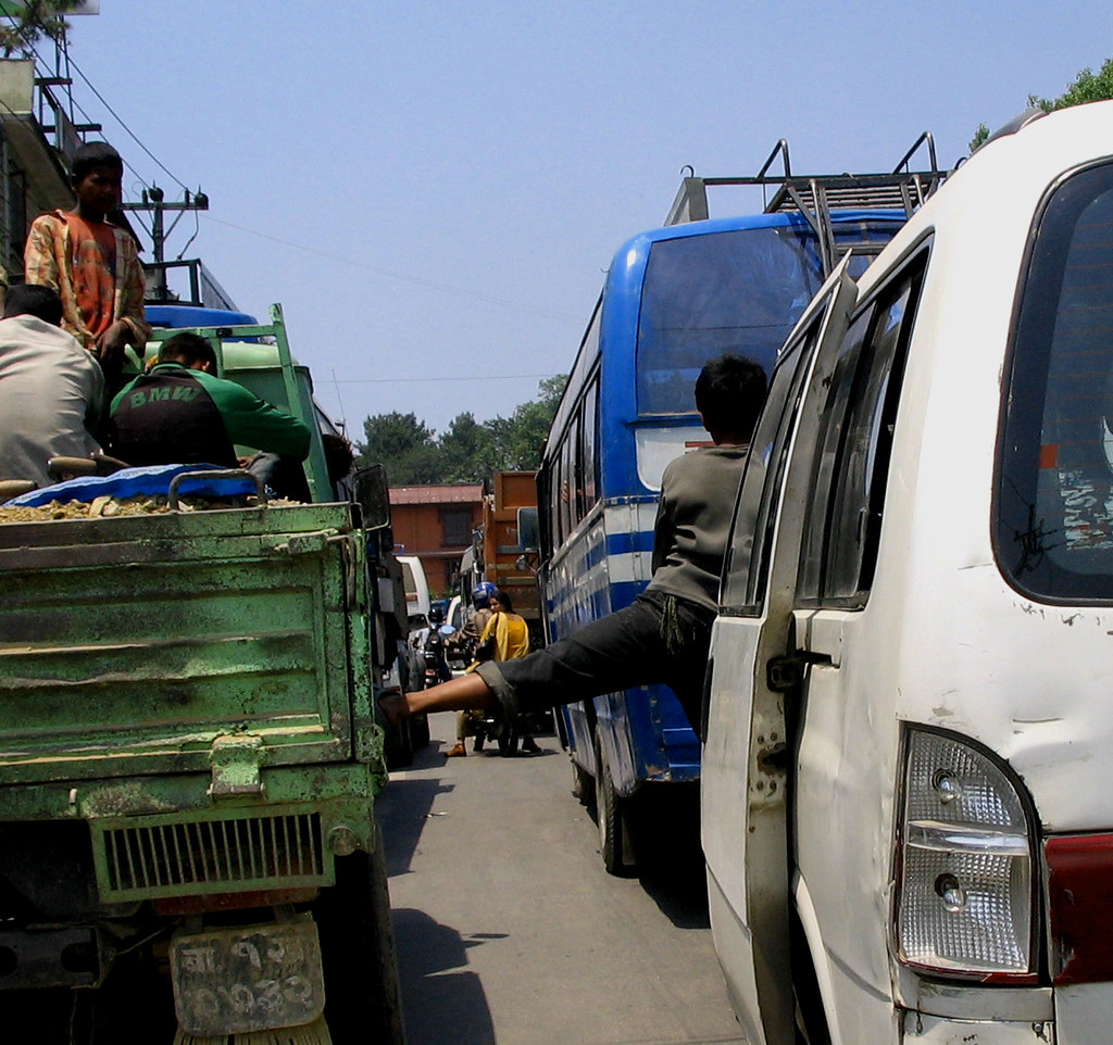 Traffic Jam Kathmandu