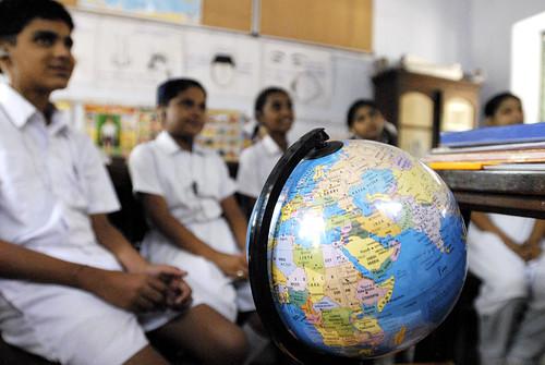 Indian summer classroom   by DFID - UK Department for International Development