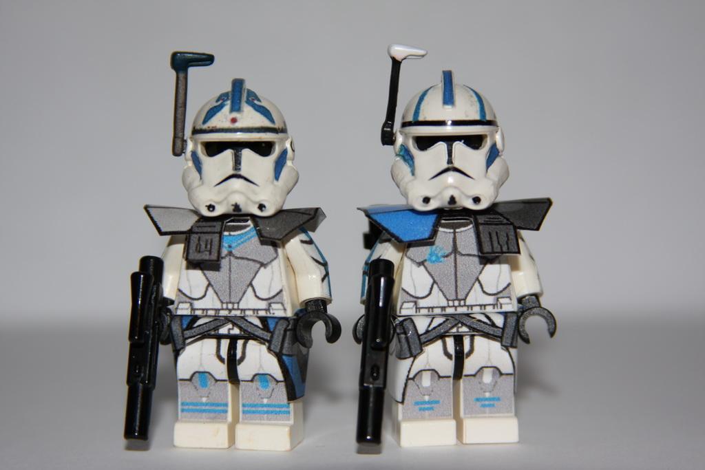 Fives and Echo on Arc trooper armor | Custom molded helmets