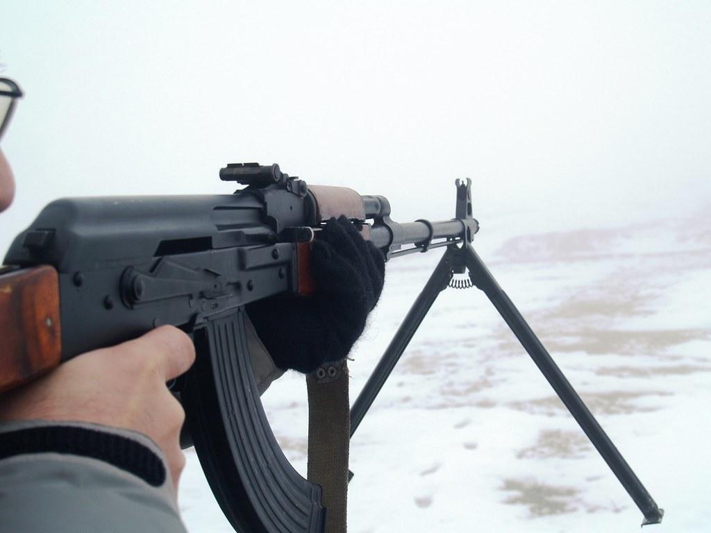 RPK-74 Kalashnikov Rifle | The AK-74 is a 5 45mm assault rif