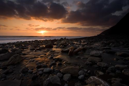 Sunset on Cooksie Creek by AlwaysJanuary (Randy)
